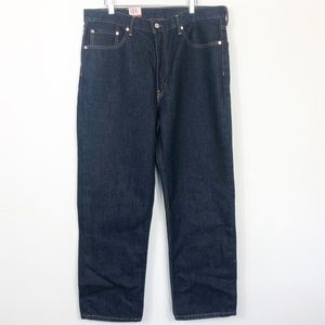 Levi's 550 Dark Wash Relaxed Fit 38 x 30 NWT